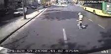 Şişli'de 73 yaşındaki adamın öldüğü kaza