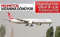 Afganistan'dan Türk askerini taşıyan uçak Ankara'ya indi