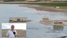 Elazığ'da kuraklık nedeni ile sular çekildi