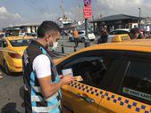 Eminönü'nde taksi sürücülerine yönelik denetimler sürüyor