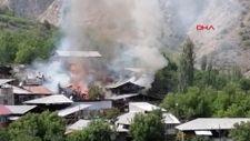 Erzurum Oltu'da yangın