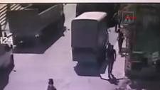 Şişli'de park halindeki kamyoneti çalan hırsız yakalandı