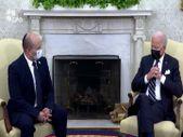 ABD Başkanı Biden ve İsrail Başbakanı Bennett, Beyaz Saray'da bir araya geldi