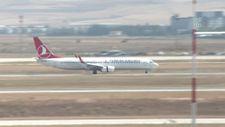 Afganistan'dan tahliye edilen ikinci TSK kafilesini taşıyan uçak Ankara'da