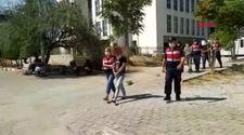 Denizli'de trafoyu çalan hırsız, ev hanımı çıktı