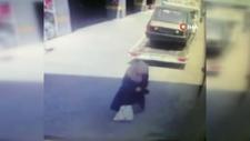 Gaziosmanpaşa'da çekicinin yaşlı kadına çarptığı anlar