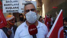 HDP önünde eylem yapan baba: Kızım polis olacaktı, hayalini yıktılar