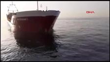 İstanbul Boğazı'na girerken arızalanan gemi Ahırkapı'ya demirletildi