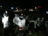Manisa'da işçi servisi otomobille çarpıştı