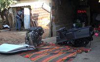 Muğla'da çaldıkları lüks otomobili, Antalya'da parçaladılar