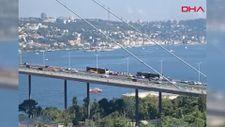 15 Temmuz Şehitler Köprüsü'nde metrobüs arızası