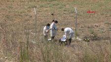 Bursa'da boş arazide ceset bulundu