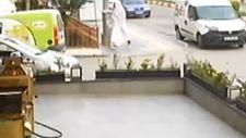 Çorum'da beyaz çarçaflı motosiklet hırsızı