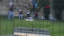 Fatih'te sahil yolunda silahlı kavga