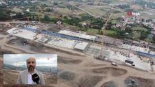 Samsun Şehir Hastanesi'nin yapımı tüm hızıyla sürüyor