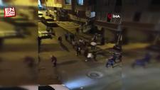 Yüksek sesle eğlence yapan şahıslar polise saldırdı