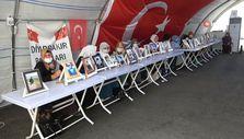HDP Diyarbakır il başkanlığı önündeki evlat nöbeti 727. gününde