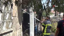 Kayseri'de annesinden para alamayan şahıs evi yaktı
