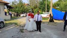 Sakarya'da görme engelli çift dünya evine girdi