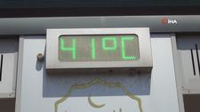 Şanlıurfa'da 41 dereceyi aşan sıcaklık