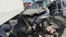 Van'ın Muradiye ilçesinde trafik kazası