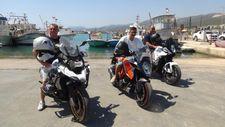 Almanya'dan motosikletleri ile Türkiye'ye gelen 3 arkadaş