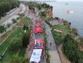 Antalya'da HES kodlu fener alayı