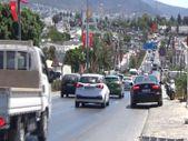 Bodrum'da tatil dönüşü trafiği