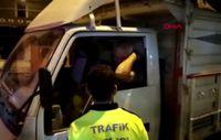 Bursa'da alkollü sürücü, direksiyon başında uyurken yakalandı