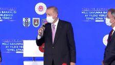 Erdoğan, Ay Yıldız Projesi'nin erken bitirilmesi için söz aldı