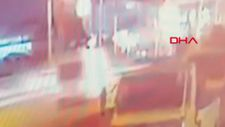 Kocaeli'de 7 işçinin yaralandığı kaza anı kamerada