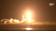 SpaceX'in kargo kapsülü uzay istasyonuna fırlatıldı