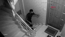 Sultangazi'de ayakkabı hırsızı kamerada