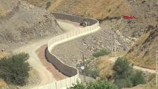 Van sınırında, 43 kilometrelik duvar inşa edildi