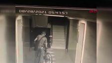 Beylikdüzü'ndeki bisiklet hırsızı, yangın merdiveninde 9 saat saklandı