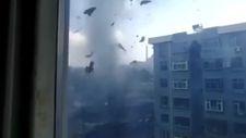 Çin'de hortum 50'den fazla eve zarar verdi