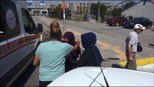 Erzurum'daki kazada eşini öldü sanan kadın, panik yaşadı
