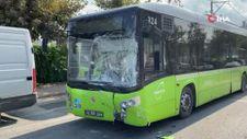 Kocaeli'de halk otobüsü minibüsle çarpıştı: 1 yaralı