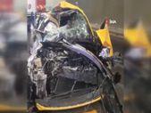 Pendik'te zincirleme kaza yaşandı: 2 tır ile 2 otomobil birbirine girdi