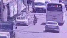 Şanlıurfa'da açılan kapıya çarpan motosikletli hayatını kaybetti