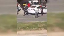 Şanlıurfa'da dehşete düşüren kavga kamerada