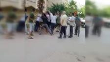 Antalya'da komşuların yumruklu kavgası kamerada