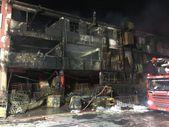 Başakşehir'de kimya fabrikasında çıkan yangın söndürüldü