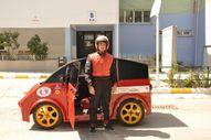 Eskişehir'de lise öğrencileri 95 kuruş ile 100 kilometre giden araç yaptı