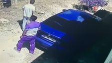 Gaziantep'te bağ evine giren hırsızlar kameraları hesap edemedi