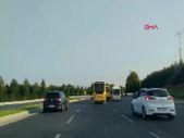 İstanbul'da düğün konvoyunda trafiği tehlikeye sokan 4 minibüsçüye ceza