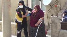 Karaman'da silahlı çatışmada, balkonda uyuyan yaşlı kadın vuruldu