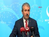 Mustafa Destici: Seçimlerde baraj uygulamasını doğru bulmuyoruz