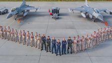 Türk F-16'ları Polonya semalarında eğitim uçuşlarına devam ediyor