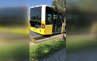 Başakşehir'de arızalanan İETT otobüsü